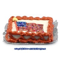 (§) Disc $2 Off - American Sparkle Flag Cake - Product Image