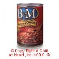 § Disc .50¢ Off - Dollhouse B & M Baked Beans - Product Image