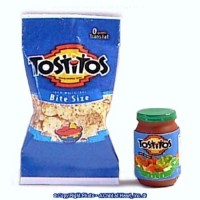 (§) Sale $1 Off - Tortilla Chips & Salsa - Product Image