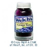 § Sale .60¢ Off - Dollhouse Jar of Grape Jelly - Product Image