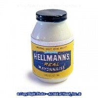 (§) Sale .50¢ Off - Hellmans Mayonnaise Bottle - Product Image