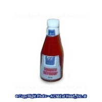 (§) Sale .30¢ Off - Dollhouse Bottle of Ketchup - Product Image