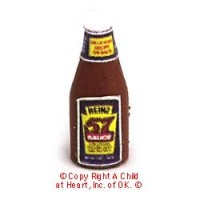 § Disc .60¢ Off - Dollhouse Steak Sauce Bottle - Product Image