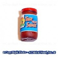 Dollhouse Hot Taco Salsa - Product Image