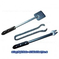 (**) Unfinished Barbecue Tools Set - Product Image