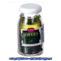 (**) Dollhouse Sweet Pickles Bottle - Product Image