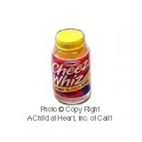 (§) Sale .60¢ Off - Dollhouse Cheese Dip Bottle - Product Image
