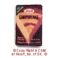 (§) Disc .30¢ Off - Dollhouse Cheese Cake Box - Product Image