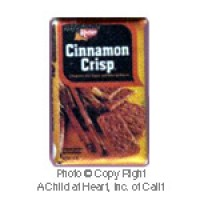 § Disc .60¢ Off - Dollhouse Cinnamon Crisp Cookies Box - Product Image