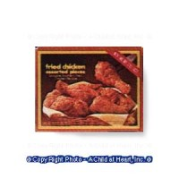 (**) Frozen Fried Chicken (Kit) - Product Image