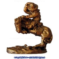 (**) Unfinished Statue - Remington Cowboy - Product Image