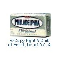 § Disc .30¢ Off - Dollhouse Cream Cheese Box - Product Image