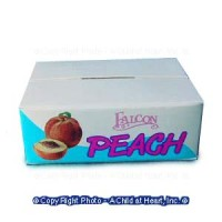 § Disc .50¢ Off - Case of Peaches (Empty) - Product Image