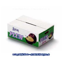 § Disc .50¢ Off - Case of Plums (Empty) - Product Image