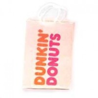 (§) Disc .60¢ Off - Dollhouse Donut Shopping Bag - Product Image