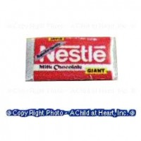 § Disc .30¢ Off - Dollhouse Nestle Chocolate Bar - Product Image
