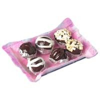 Sale $2 Off - Dollhouse Tray of Chocolate Bonbons - Product Image