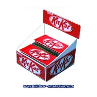 Sale $1 Off - Store Candy Display - Kit Kat - Product Image