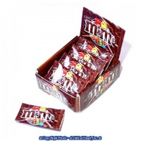 Sale $1 Off - Store Candy Display - Brown M & M's - Product Image