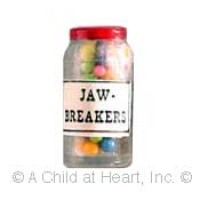 (§) Disc .60¢ Off - Jar of Jawbreakers - Product Image