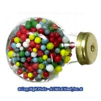 (§) Disc. .30¢ Off - Counter Jar of Gumballs - Product Image