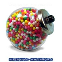 (*) Dollhouse Counter Jar of Candy - Product Image