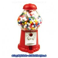 Sale $1 Off - Tabletop Vintage Gumball Machine - Product Image