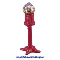 Dollhouse Standing Gumball Machine - Product Image