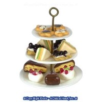 Tier Plate Sandwiches & Blueberry Pie - Product Image