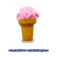 Dollhouse Single Ice Cream - Cake Cone - Product Image