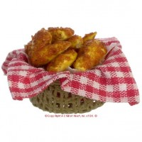 Dollhouse Fried Chicken Basket - Product Image