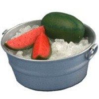 Dollhouse Watermelon on Ice In Tub - Product Image