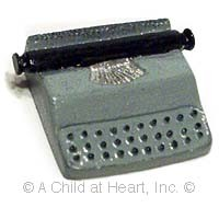(*) Unfinished Portable Typewriter - Product Image