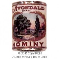 (§) Sale .30¢ Off - Dollhouse 1 lb. Can of Avondale Hominy - Product Image