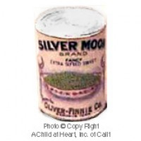§ Sale .30¢ Off - Dollhouse 1 lb. Can Silver Moon Peas - Product Image