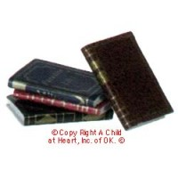 § Sale .40¢ Off - 4 Fancy Book Set Assorted Colors - Product Image