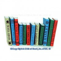 (§) Sale .60¢ Off - 12 Classic Books - Printed Covers - Product Image