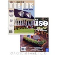§ Sale .50¢ Off - 2 pc House Plans Magazine - Product Image