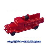 Vintage Style Toy Fire Engine - Product Image