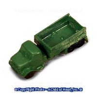 Dollhouse Green Toy Truck - Product Image