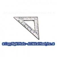 (*) Dollhouse Unfinished Triangle - Product Image