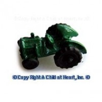 Dollhouse Tiny Toy Tractor - Product Image