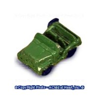 Dollhouse Toy Jeep - Product Image