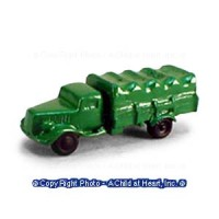 Dollhouse Toy Army Truck - Product Image