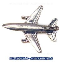Dollhouse Toy Jet Airplane - Product Image