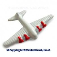 § Sale .60¢ Off - Dollhouse Toy Plane - Product Image
