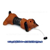 () Disc. .60¢ Off - Dollhouse Tiny Slinky Dog Toy - Product Image