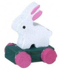 § Disc .30¢ Off - Dollhouse Rabbit Pull Toys - Product Image
