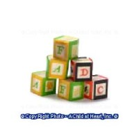 (§) Sale .40¢ Off - Baby Blocks - Product Image