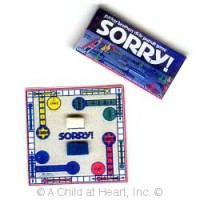 § Disc .60¢ Off - Sorry Game with Board - Product Image